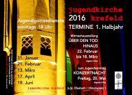 Flyer Termine 2016 I
