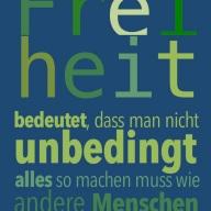 Freiheit b
